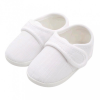 NEW BABY Baba kiscipő New Baby Linen fehér 6-12 h