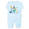 NEW BABY Baba pamut kezeslábas oldalsó bekapcsolással New Baby Knight