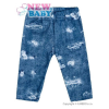 NEW BABY Baba pamut legging New Baby Light Jeansbaby kék | Kék | 68 (4-6 h)