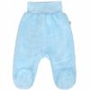 NEW BABY Baba plüss lábfejes nadrág New Baby Nice Bear kék