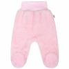 NEW BABY Baba plüss lábfejes nadrág New Baby Nice Bear rózsaszín