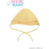 NEW BABY Baba sapka New Baby sárga