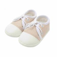 NEW BABY Baba tornacipő New Baby Jeans bézs 6-12 h gyerek cipő
