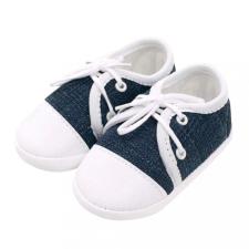NEW BABY Baba tornacipő New Baby Jeans kék 12-18 h gyerek cipő