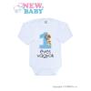 NEW BABY Body nyomtatott mintával New Baby 1 éves vagyok kék | Kék | 80 (9-12 h)