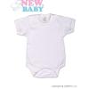 NEW BABY Body rövid ujj New Baby Classic | Fehér | 98 (2-3 éves)