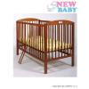 NEW BABY Bükkfa kiságy New Baby Juliet - teak