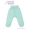 NEW BABY Csecsemő lábfejes nadrág New Baby türkiz | Türkiz | 86 (12-18 h)