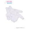 NEW BABY Együttes New Baby Classic   Fehér   62 (3-6 h)
