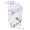 NEW BABY Gyerek pólya New Baby szürke maci | Szürke |