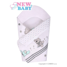 NEW BABY Gyerek pólya New Baby szürke maci | Szürke | pólya