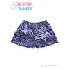 NEW BABY Gyermek rövidnadrág New Baby Zebra kék | Kék | 128 (7-8 éves)