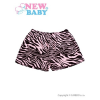 NEW BABY Gyermek rövidnadrág New Baby Zebra rózsaszín | Rózsaszín | 116 (5-6 éves)