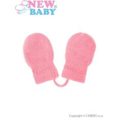 NEW BABY Gyermek téli kesztyű New Baby világos rózsaszín