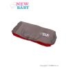 NEW BABY Kézmelegítő babakocsira Classic Fleece szürke - piros | Piros |