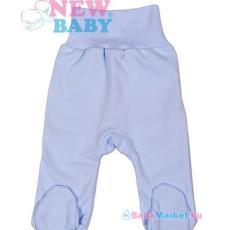 NEW BABY Lábfejes baba nadrág - New Baby Classic kék 80 (9-12 hó)