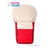 NEW BABY Luxus lábzsák gyapjúval New Baby piros | Piros |