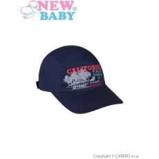 NEW BABY Nyári gyermek baseball sapka New Baby California sötét kék