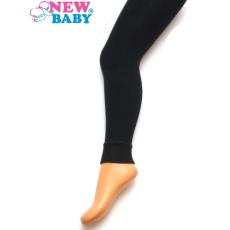 NEW BABY Pamut egyszínű legging New Baby fekete