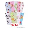NEW BABY Pamut pelenka nyomtatott mintával - 10 darab | A kép szerint |