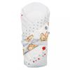NEW BABY Pólya kókusz betéttel és masnival New Baby világos szürke macival