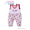 NEW BABY Rugdalózó New Baby Katica   Fehér   86 (12-18 h)