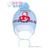 NEW BABY Téli gyermek sapka New Baby autó világos kék | Világos kék | 86 (12-18 h)