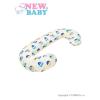 NEW BABY Univerzális szoptatós párna C alakú New Baby Baglyócska bézs | Bézs |
