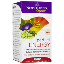 New Chapter Perfect Energy Multivitamin tabletta, 96 db - Maximális energia vitamin