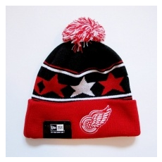New Era Detroit Red Wings téli sapka pommy star