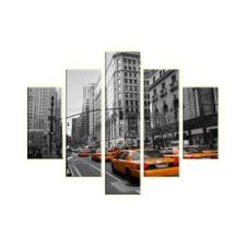 New York vászonkép grafika, keretezett kép