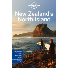 New Zealand's North Island - Lonely Planet idegen nyelvű könyv