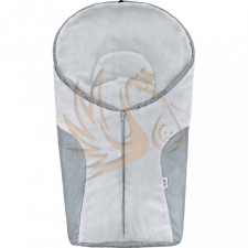 NewBaby Luxus bundazsák New Baby Car light grey babakocsi