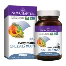 NewChapter Every Man's One Daily Multi 55+ Tablets - Multivitamin férfiaknak 72 db vitamin