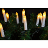 Nexos Hagyományos gyertyák karácsonyfára - meleg fehér