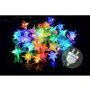 Nexos Karácsonyi LED világítás - színes csillagok - 40 LED