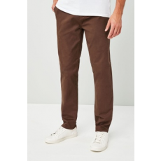 Next , Slim fit chino nadrág, Barna, 28L (503145-BROWN-28L)