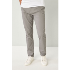 Next , Slim fit chino nadrág, Drapp, 30S (600569-GREY-30S)