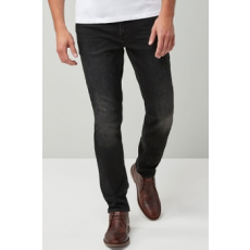 Next , Slim fit farmernadrág, Fekete, 36S (555336-BLACK-36S)