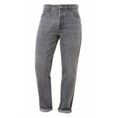 Next , Slim Fit farmernadrág gombos sliccel, Szürke, 34L (181758-GREY-34L)