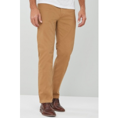 Next , Straight fit nadrág, Karamellbarna, 36S (317071-BROWN-36S)