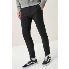 Next , Super Skinny Fit Chino nadrág, Fekete, 32S (526103-BLACK-32S)