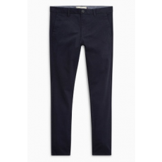 Next , Super skinny fit chino nadrág, Sötétkék, 26R (585793-BLUE-26R)