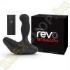 Nexus Revo Stealth távirányítós forgó prosztatavibrátor - fekete