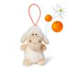 NICI Nici: illatos bárány plüsskulcstartó - 8 cm, narancsos