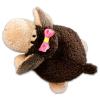 NICI Nici: Jolly bárány mágneses plüssfigura - 12 cm, barna