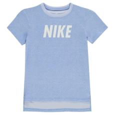 Nike gyerek póló - Nike NSW Woven T Shirt Junior Girls Royal