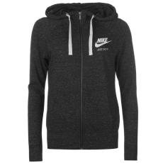 Nike női cipzáras kapucnis pulóver - Nike Vintage Full Zip Hoody Black