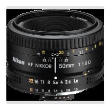 Nikon 50 mm f/1.8 AF D objektív objektív