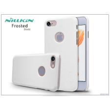 Nillkin Apple iPhone 7 hátlap képernyővédő fóliával - Nillkin Frosted Shield - fehér tok és táska